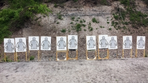 Outdoor shooting range Prague