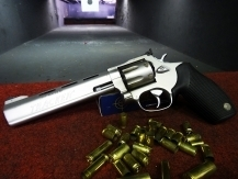 Indoor shooting range Prague - Revolver .357 MAGNUM (stronger calibers .44MAG only outdoor)