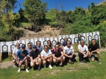Prague shooting event - Each member of your group gets his own target and top class safety equipment